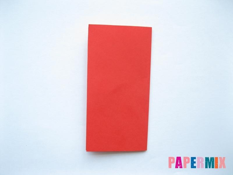 Как сделать самосвал из бумаги (оригами) своими руками - шаг 1