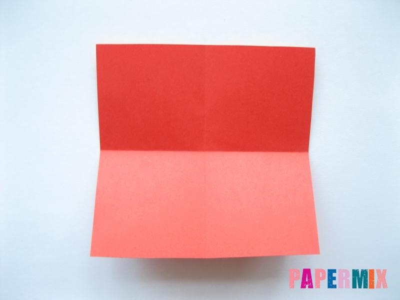 Как сделать самосвал из бумаги (оригами) своими руками - шаг 3
