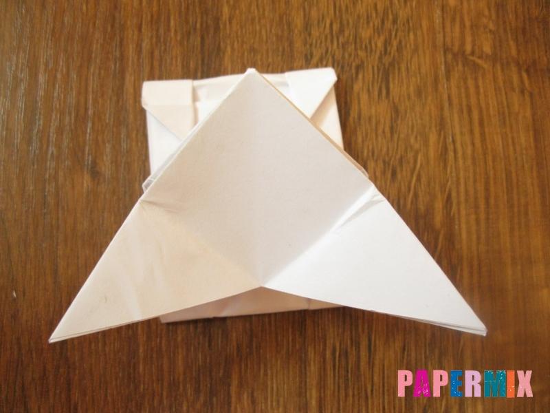 Как сделать танк Т-90 из бумаги (оригами) поэтапно - шаг 12