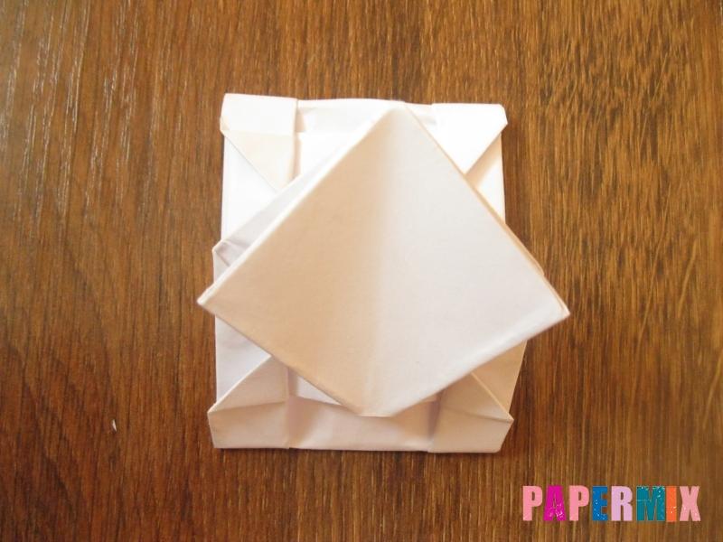 Как сделать танк Т-90 из бумаги (оригами) поэтапно - шаг 13