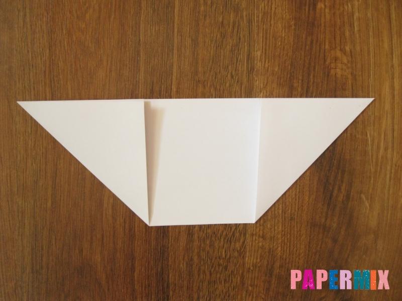 Как сделать танк Т-90 из бумаги (оригами) поэтапно - шаг 2