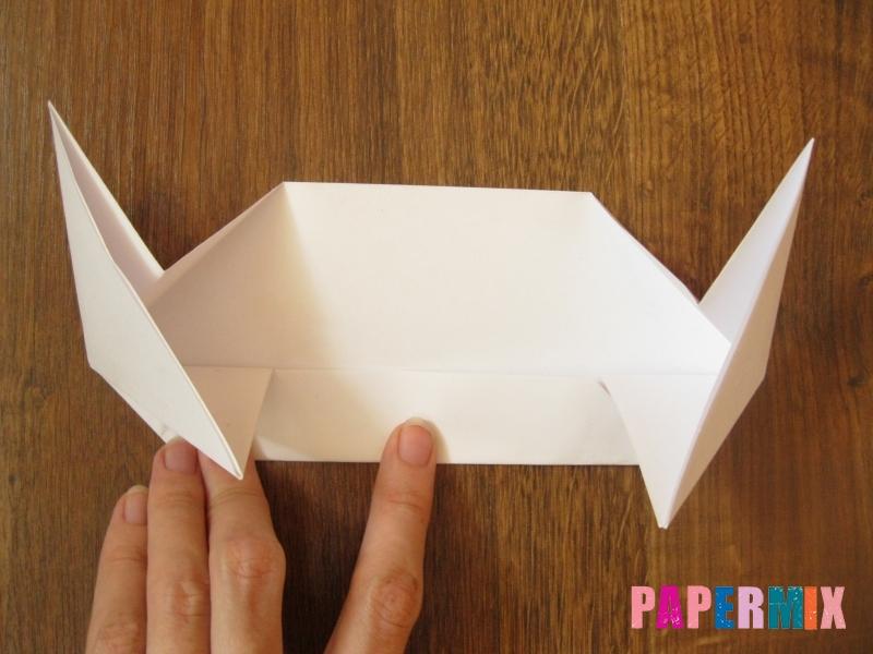 Как сделать танк Т-90 из бумаги (оригами) поэтапно - шаг 7