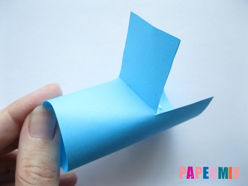 Как сделать трактор из бумаги поэтапно - шаг 5