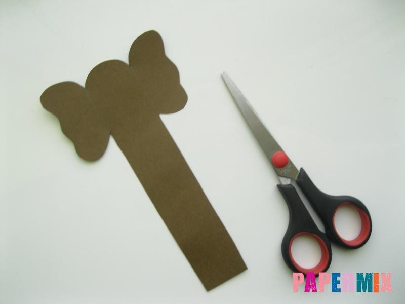 Как сделать носатую закладку слона из бумаги своими руками - шаг 3