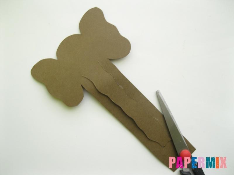 Как сделать носатую закладку слона из бумаги своими руками - шаг 5