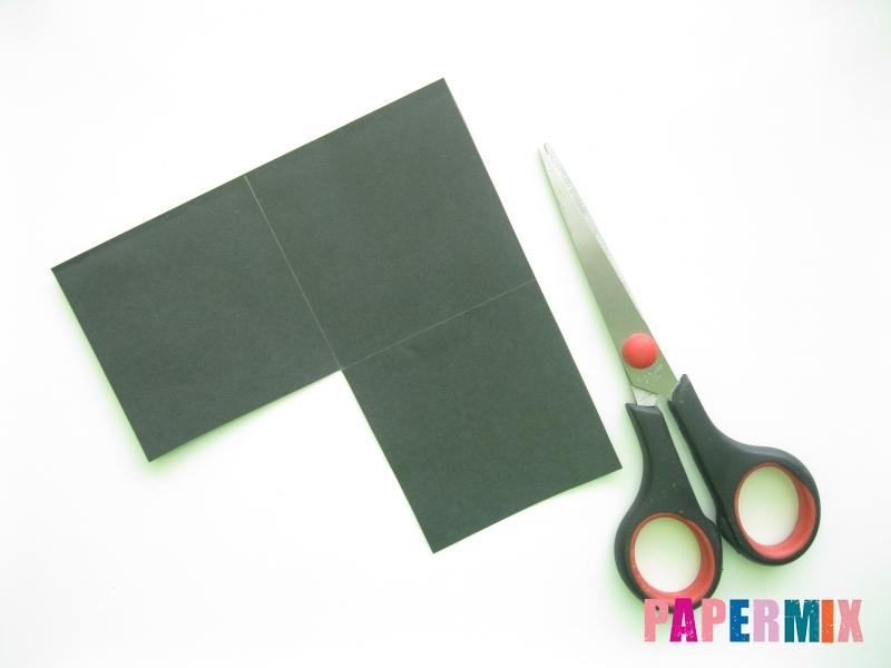 Как сделать закладку кота из бумаги своими руками - шаг 1