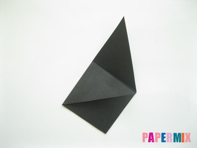Как сделать закладку кота из бумаги своими руками - шаг 4
