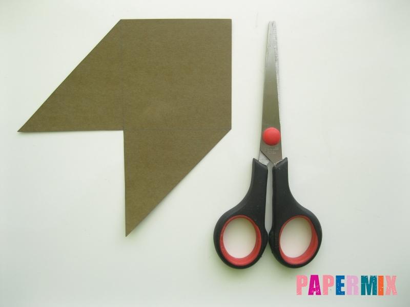 Как сделать закладку мишку из бумаги своими руками - шаг 3