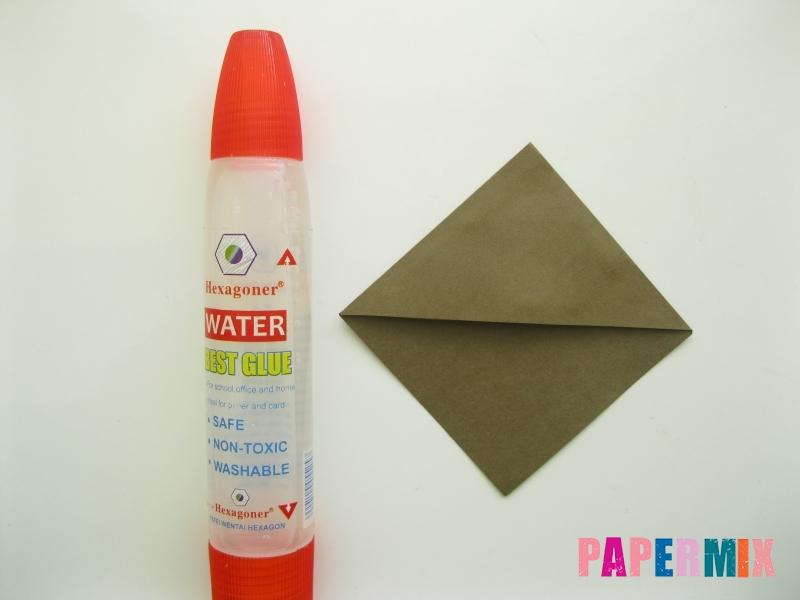 Как сделать закладку мишку из бумаги своими руками - шаг 4
