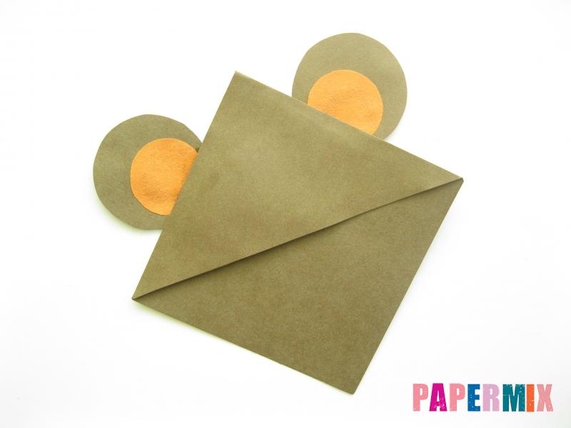 Как сделать закладку мишку из бумаги своими руками - шаг 6