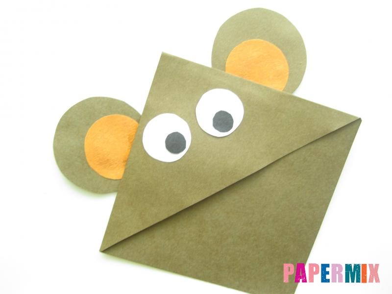Как сделать закладку мишку из бумаги своими руками - шаг 7