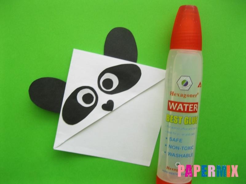 Как сделать закладку панду из бумаги своими руками - шаг 10