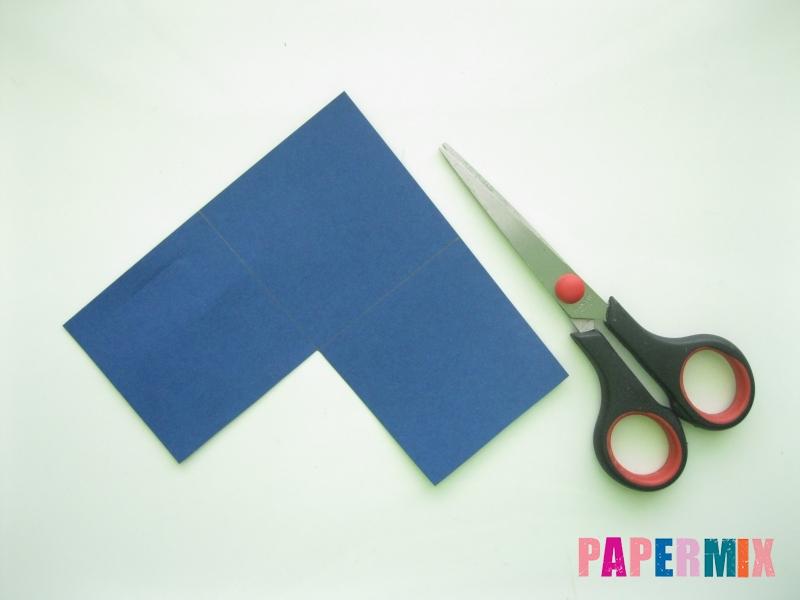 Как сделать закладку сову из бумаги своими руками - шаг 2