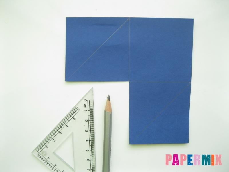 Как сделать закладку сову из бумаги своими руками - шаг 3