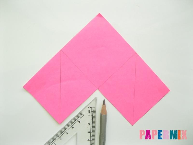 Как сделать закладку в форме зубастого монстра из бумаги - шаг 3