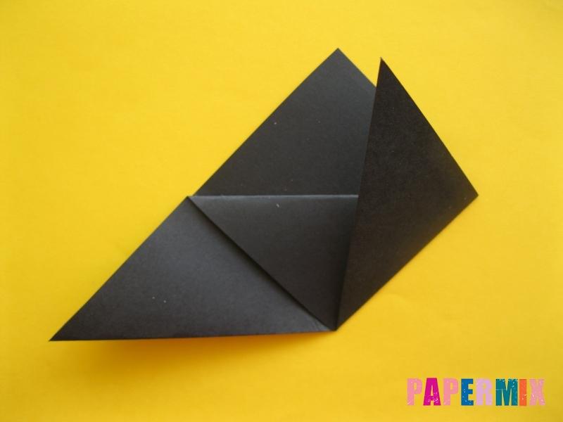 Как сделать закладку в виде енота из бумаги поэтапно - шаг 7