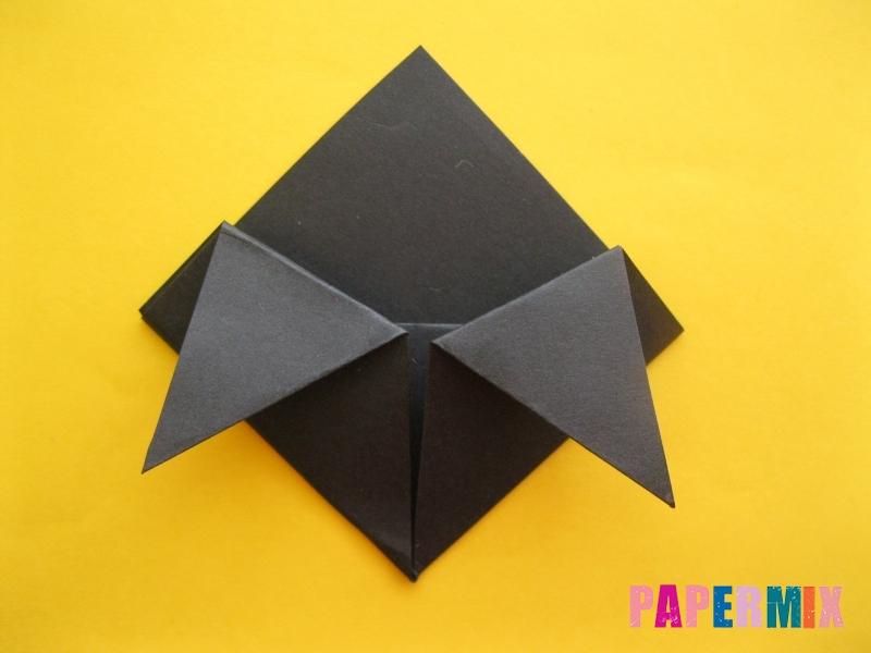 Как сделать закладку в виде енота из бумаги поэтапно - шаг 9