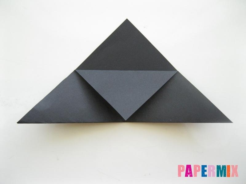 Как сделать закладку в виде пингвина из бумаги поэтапно - шаг 6