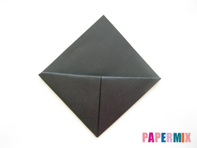 Как сделать закладку в виде пингвина из бумаги поэтапно - шаг 8
