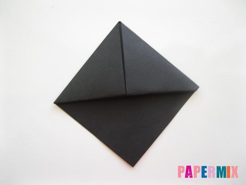 Как сделать закладку в виде пингвина из бумаги поэтапно - шаг 9