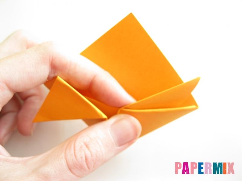Как сделать закладку виде мордочки лисички из бумаги - шаг 10