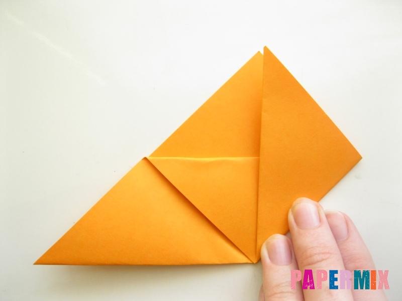 Как сделать закладку виде мордочки лисички из бумаги - шаг 7