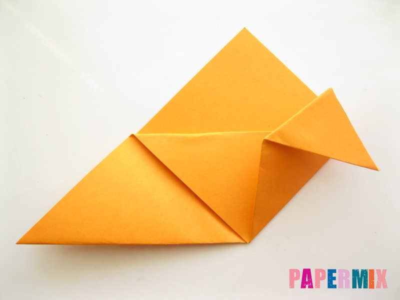 Как сделать закладку виде мордочки лисички из бумаги - шаг 8