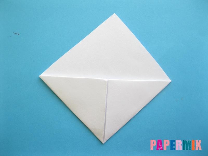 Как сделать закладку зайчик из бумаги поэтапно - шаг 10