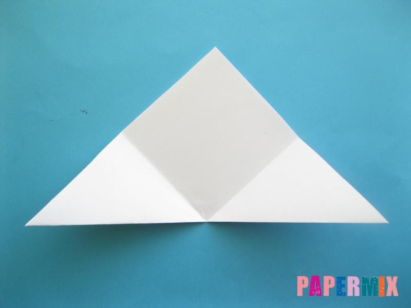 Как сделать закладку зайчик из бумаги поэтапно - шаг 6