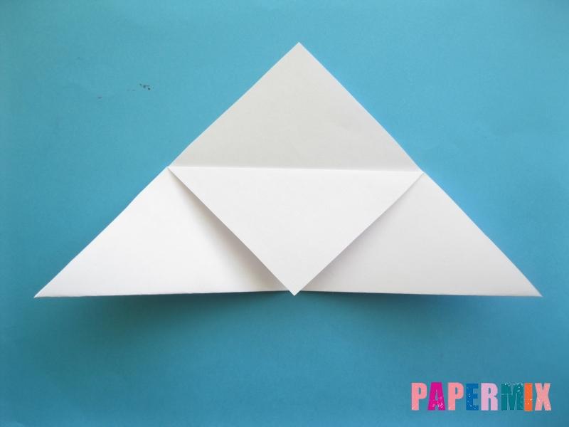 Как сделать закладку зайчик из бумаги поэтапно - шаг 7