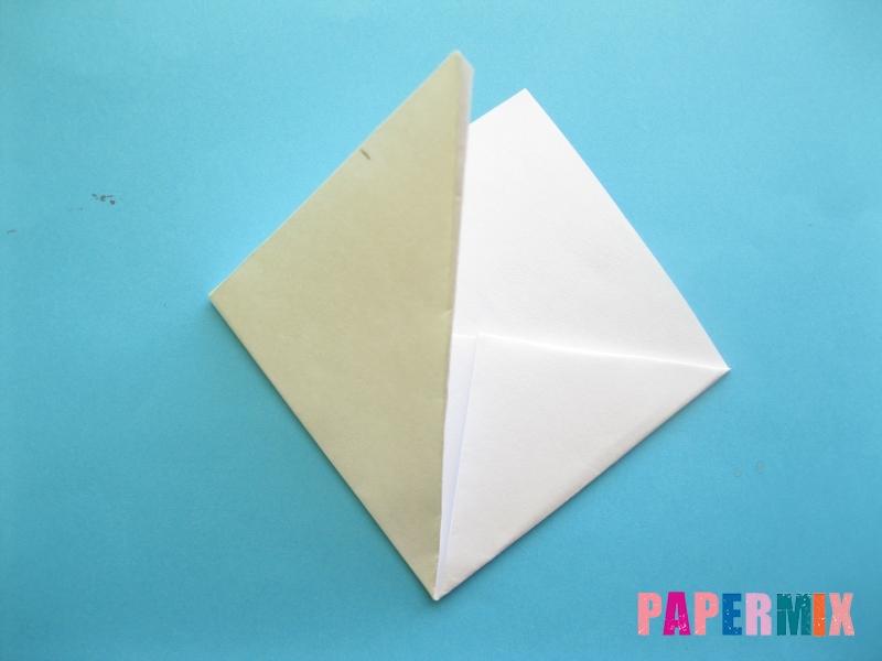 Как сделать закладку зайчик из бумаги поэтапно - шаг 9