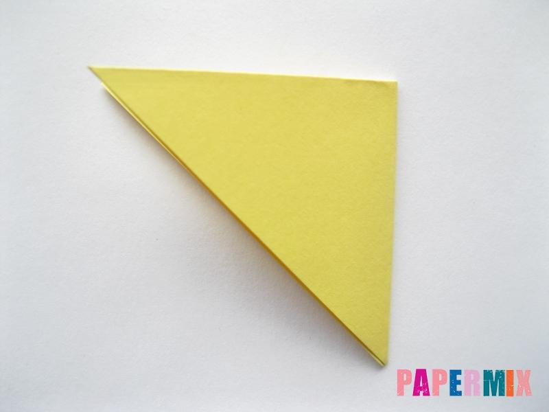 Как просто сделать лисичку из бумаги поэтапно - шаг 3