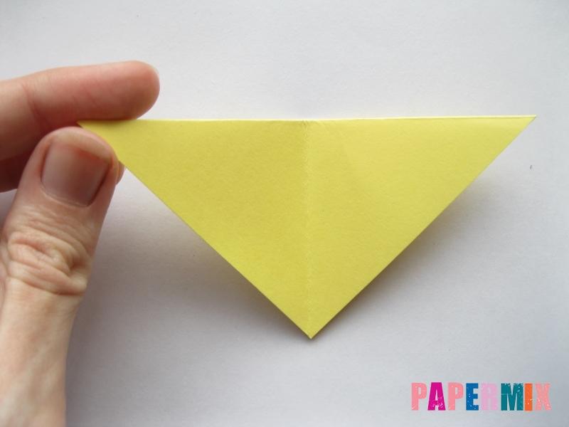 Как просто сделать лисичку из бумаги поэтапно - шаг 4