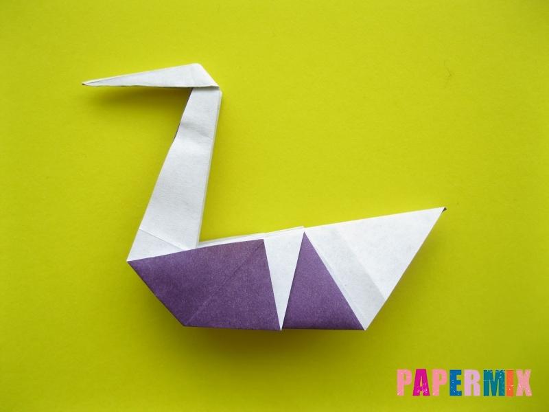 Как сделать аиста из бумаги (оригами) поэтапно - шаг 16