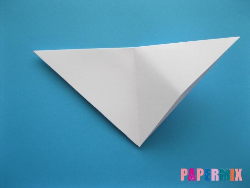Как сделать акулу из бумаги (оригами) поэтапно - шаг 3