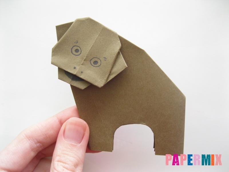 Как сделать бегемота из бумаги (оригами) поэтапно - шаг 14