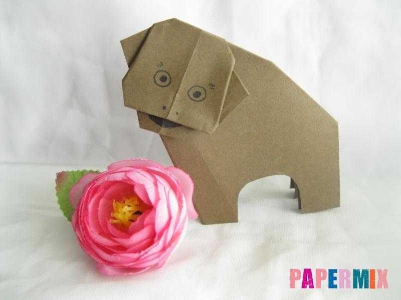 Как сделать бегемота из бумаги (оригами) поэтапно - шаг 15