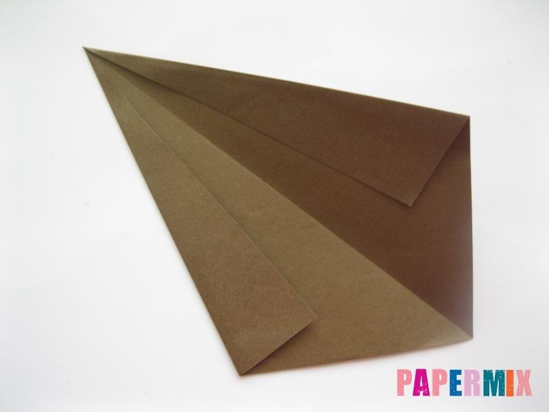 Как сделать бегемота из бумаги (оригами) поэтапно - шаг 2