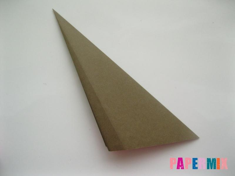 Как сделать бегемота из бумаги (оригами) поэтапно - шаг 3