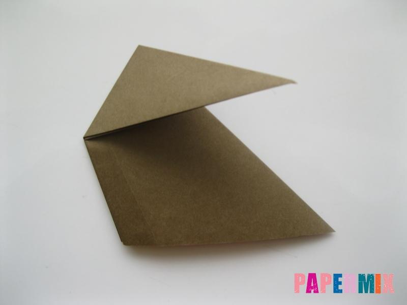 Как сделать бегемота из бумаги (оригами) поэтапно - шаг 4