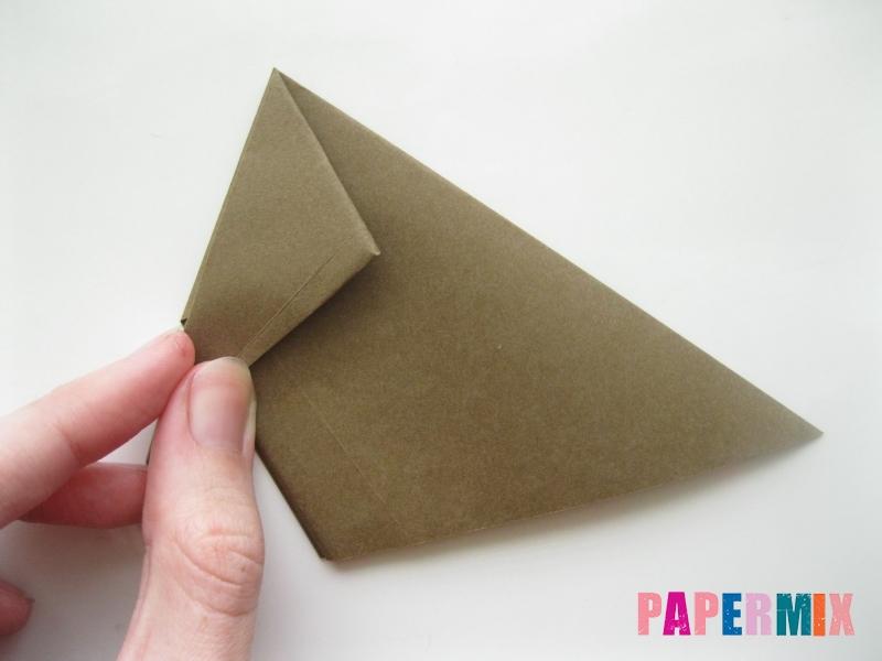 Как сделать бегемота из бумаги (оригами) поэтапно - шаг 5