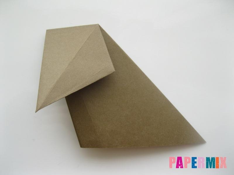 Как сделать бегемота из бумаги (оригами) поэтапно - шаг 7