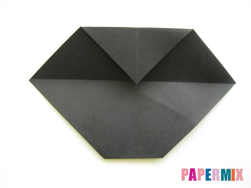 Как сделать черного кота из бумаги поэтапно - шаг 10