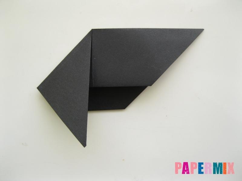 Как сделать черного кота из бумаги поэтапно - шаг 12