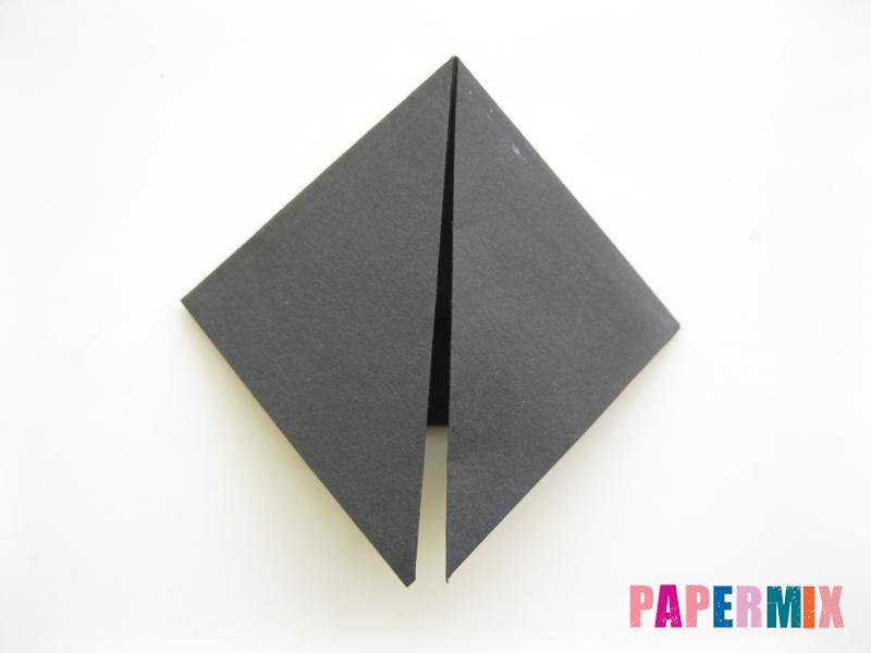 Как сделать черного кота из бумаги поэтапно - шаг 13