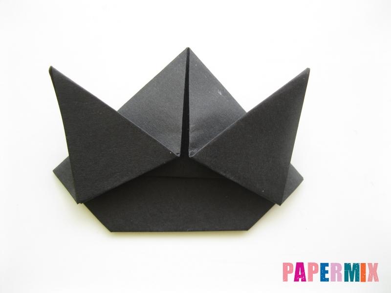 Как сделать черного кота из бумаги поэтапно - шаг 14