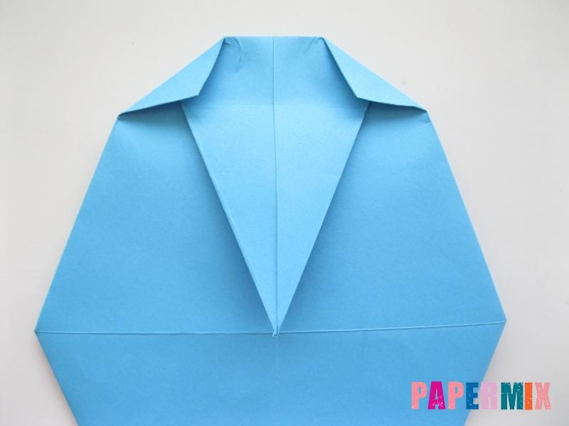 Как сделать дельфина из бумаги поэтапно - шаг 11