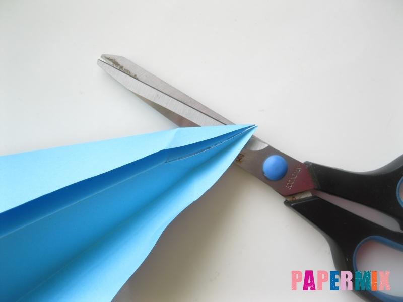 Как сделать дельфина из бумаги поэтапно - шаг 17
