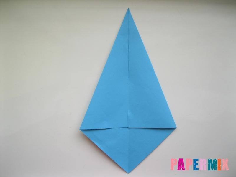 Как сделать дельфина из бумаги поэтапно - шаг 2