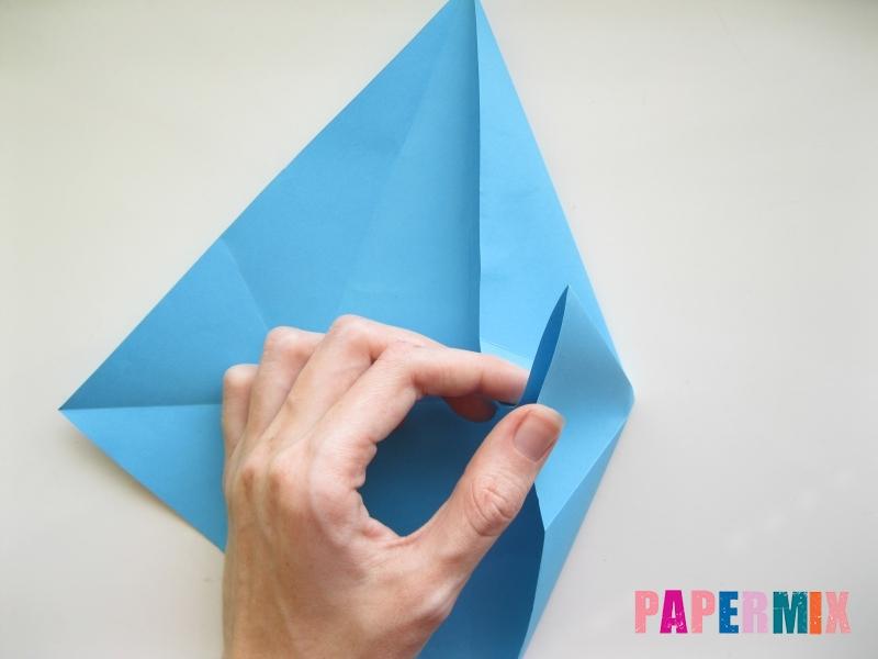 Как сделать дельфина из бумаги поэтапно - шаг 7